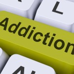 Addiction Key On Keyboard Meaning Vulnerability Or Obsession