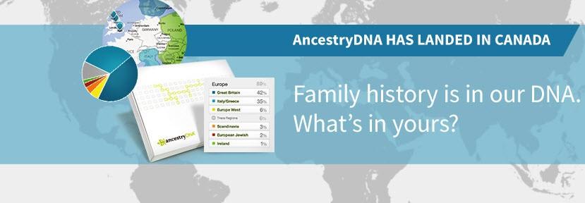 ancestry dna canada